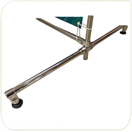 Дополнительные ножки опоры для стенда пресс волл, возможна установка колесиков