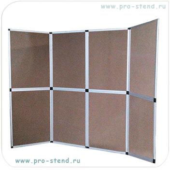 Планшетный стенд Foldup с ковролиновым покрытием, цвет возможен любой из имеющихся в наличии