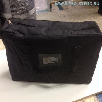 Буклетница Alucase А3 в черной сумке.