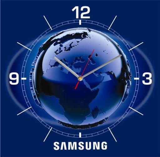 Производство стеклянных часов с печатью