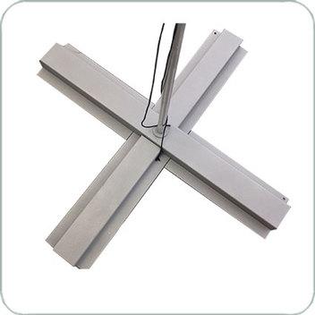 крестовина с возможностью утяжеления плитками 40*40 см