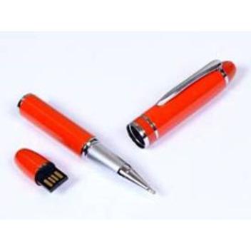 Ручка в металлическом корпусе с флешкой для нанесения логотипа