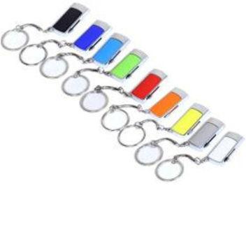 Разноцветные флешки с карабином, под нанесение логотипа и рекламной информации