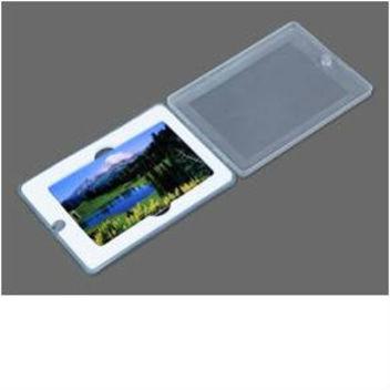 Подарочная упаковка для флешки-карты - коробочка с прозрачной крышкой
