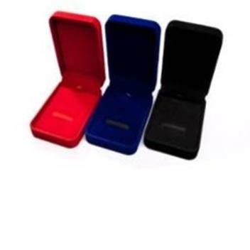 Упаковка №5 подарочная бархатная коробочка для флешек в виде ключа