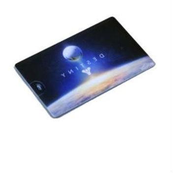 Флешка-визитка Card4 с полноцветной печатью с одной или с двух сторон