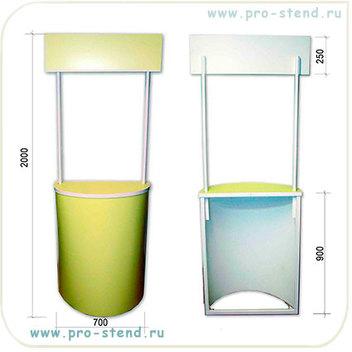 Промостойка пластиковая недорогая облегченная модель