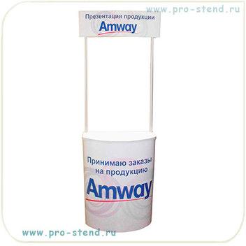 промостойки пластиковые для рекламы парфюмерных и хозяйственных товаров