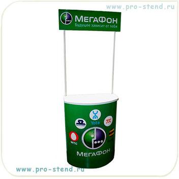 промостойки пластиковые для рекламы сотовых компаний, телефонных услуг