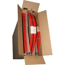 упаковка штендеров в картонные коробки для транспортировки