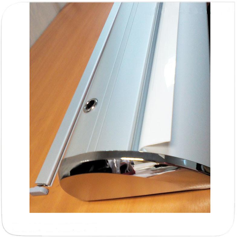 Качественный устойчивый каплевидный стенд -стильный дизайн, надежная конструкция