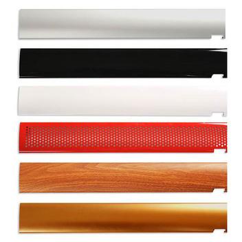 Сменные цветные панели-накладки на основание стенда с лицевой и задней стороны