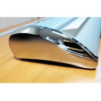 Каплевидный роллерный стенд Rollup Lux K8 улучшенная модель