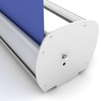 В сложенном виде фотопанель автоматически убирается и хранится внутри корпуса стенда