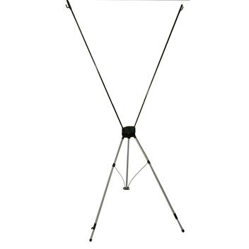икс-баннерный стенд 60*160, 80*180 и 120*200 см. тип А (с крепежным элементом для баннера в виде крючков)