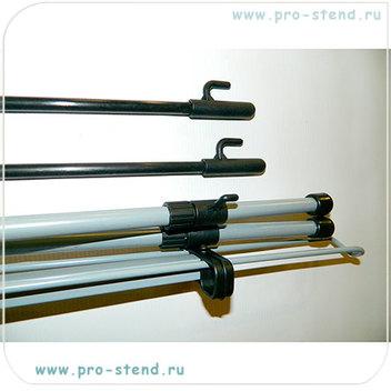 икс стенд 60*160, 80*180 и 120*200 см.тип А (баннер цепляется на крючки на стенде)