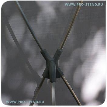 Соединительная крестовина из прочного пластика, выдержит большие нагрузки.