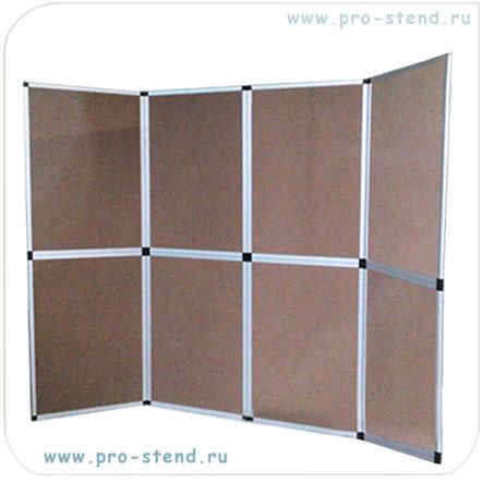 Main photo of Рекламная ширма FOLD-UP (планшетный стенд), белые панели