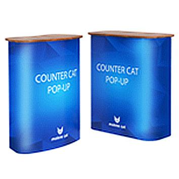 Main photo of Промостойка Counter Cat Pop-Up